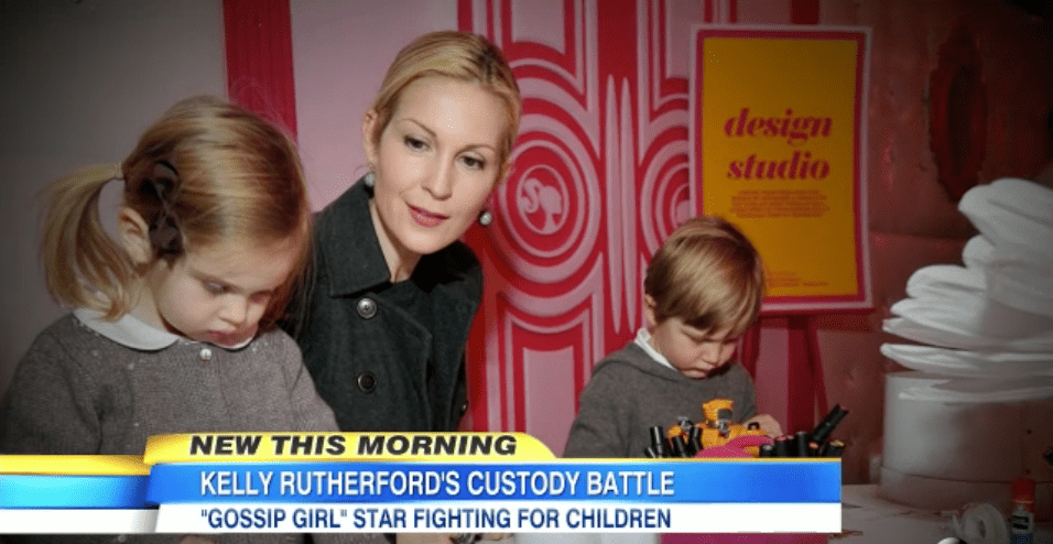Kelly Rutherford's Child Custody Battle